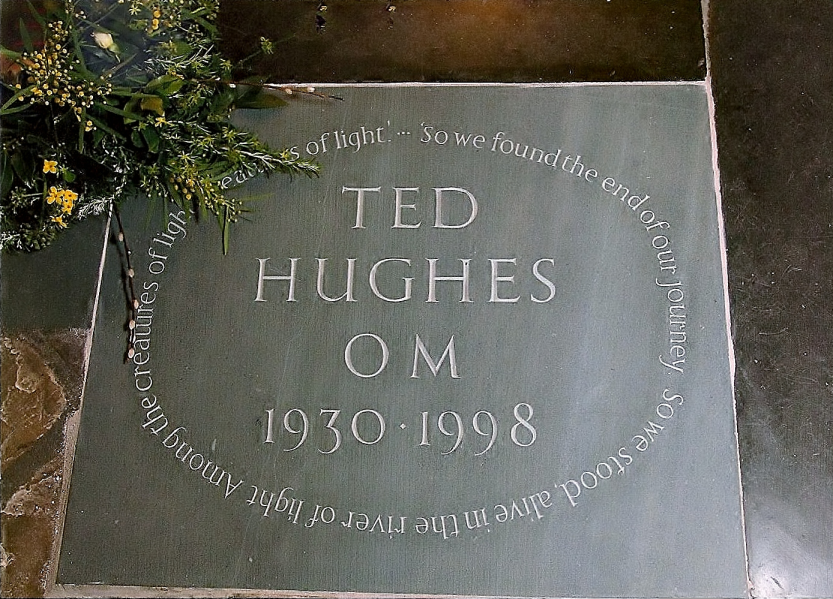 Ted Hughes Poet North Tawton